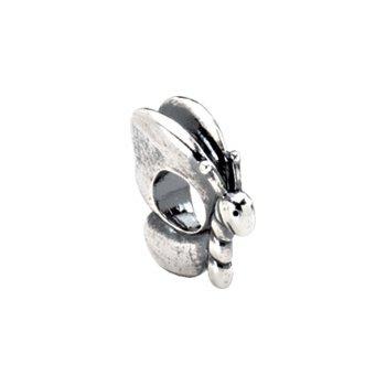 Kera Sterling Silver Butterfly Bead