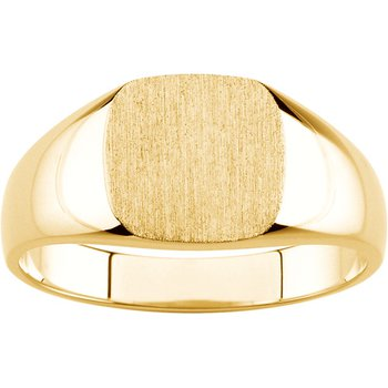 Men's Gold Signet Ring