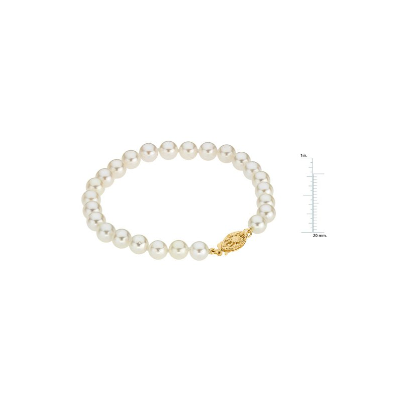 Ladies' Jewelry Akoya Cultured Pearl Bracelet