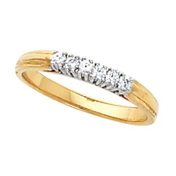 1/8 ct tw Diamond Wedding Band