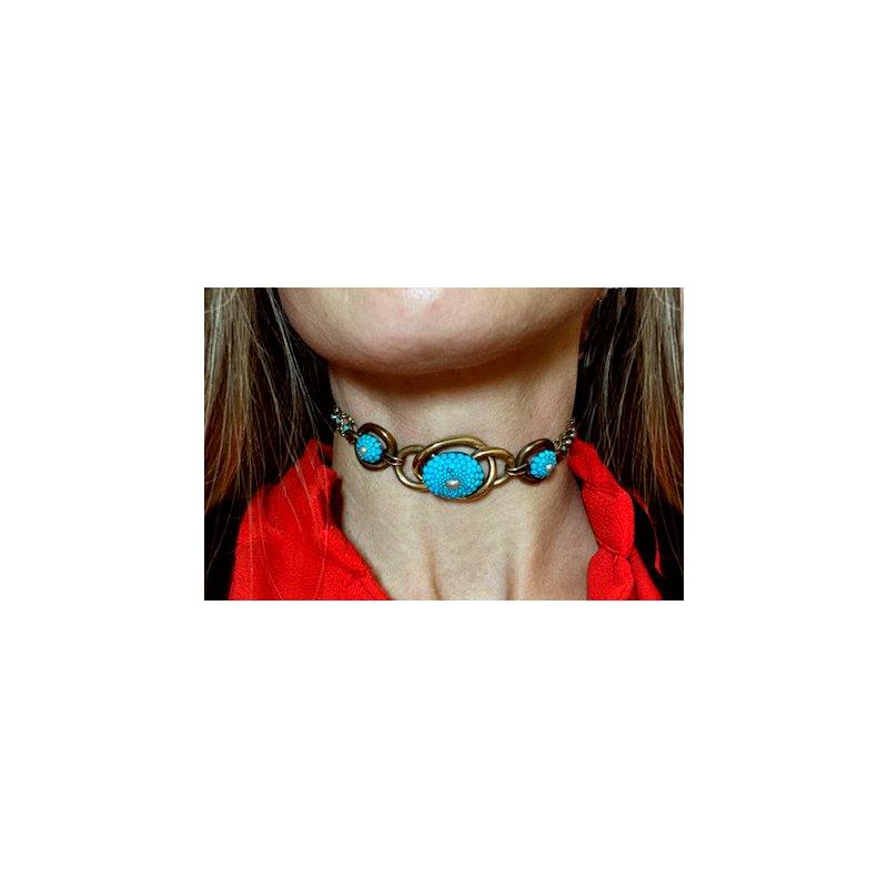 Estate & Vintage Vintage Victorian Style Choker Necklace