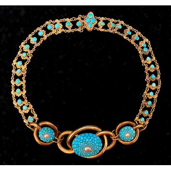 Vintage Victorian Style Choker Necklace