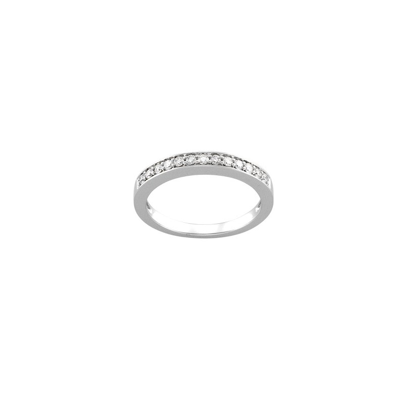 Susan Eisen 1/4 ct tw Diamond Wedding Band