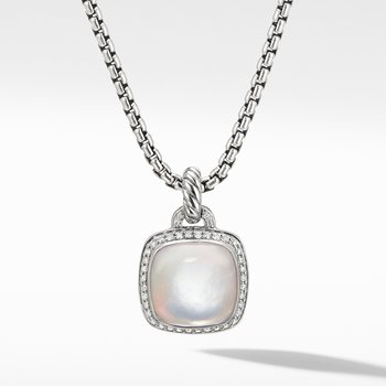 Albion® Pendant with Rock Crystal and Diamonds