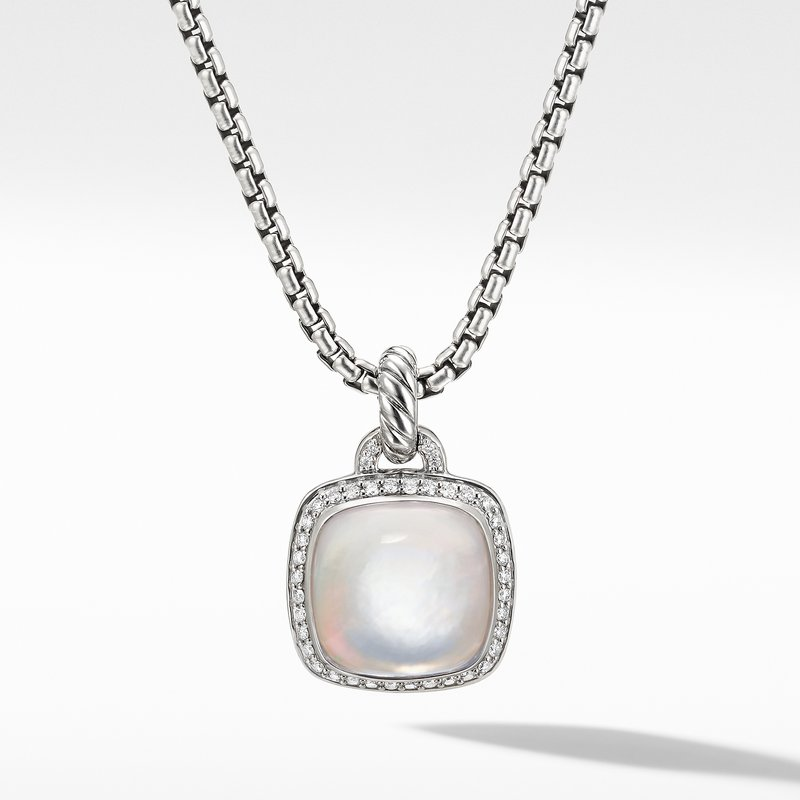 David Yurman Albion® Pendant with Rock Crystal and Diamonds