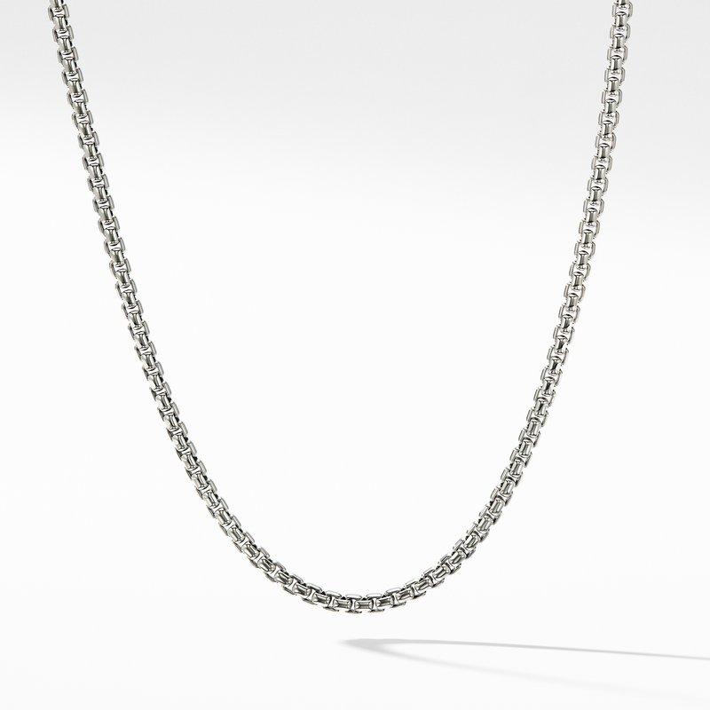 David Yurman Box Chain Necklace with Gold