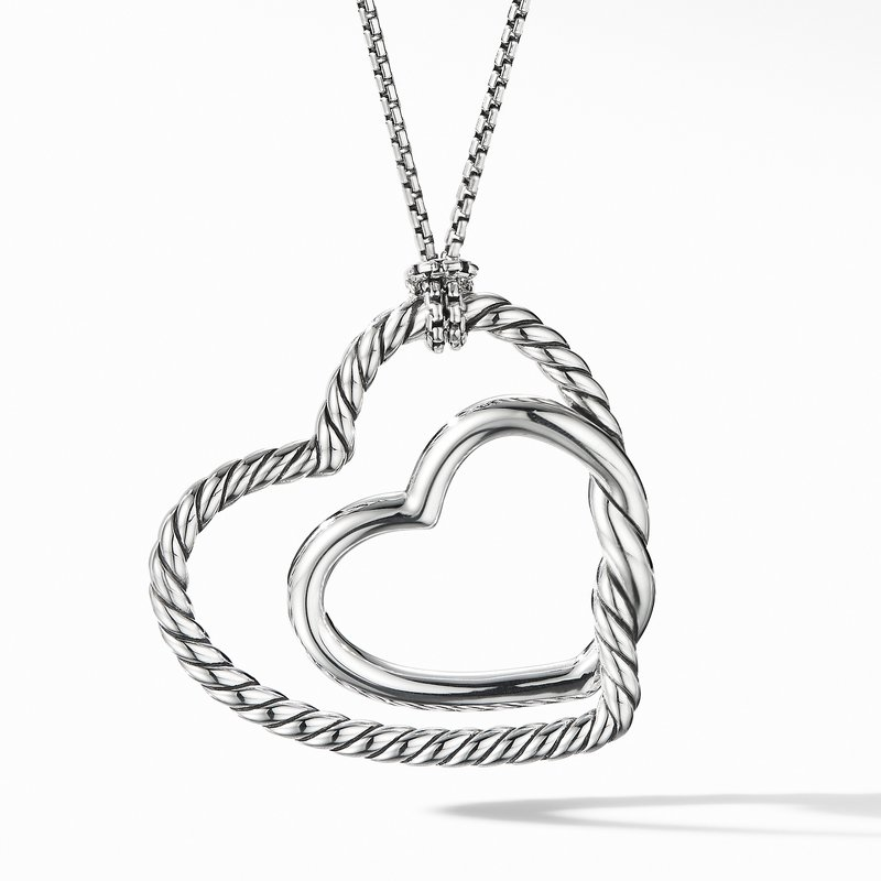 David Yurman Continuance® Heart Necklace