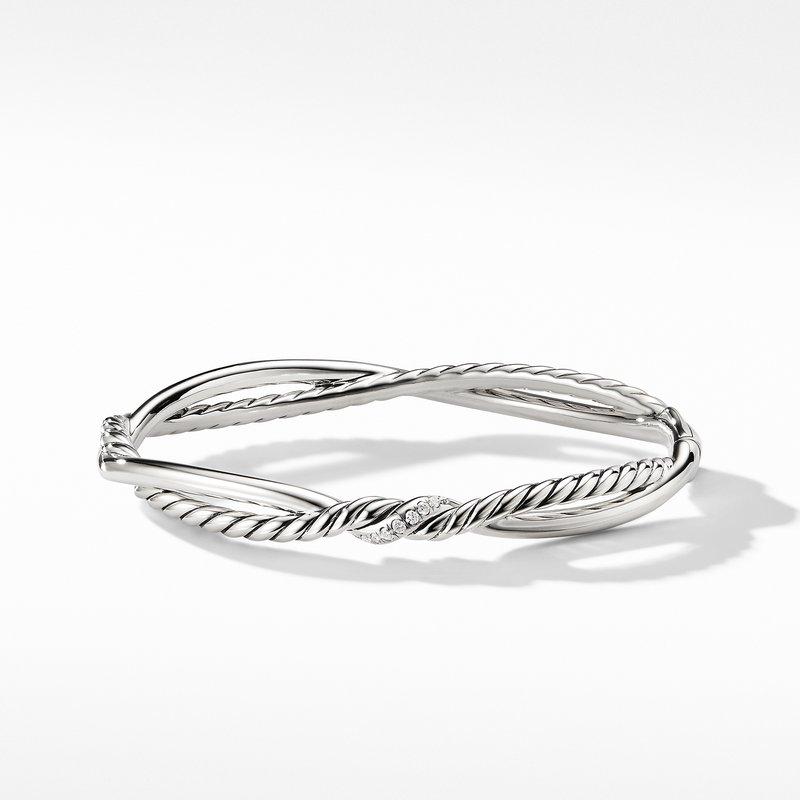 David Yurman Continuance® Small Station Bracelet with Diamonds