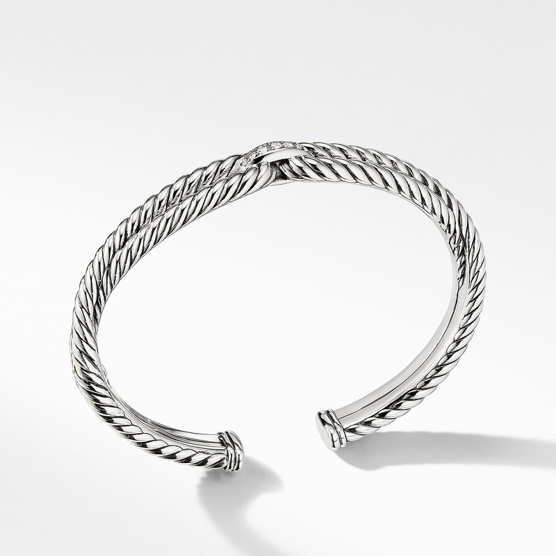 David Yurman Cable Loop Bracelet with Diamonds