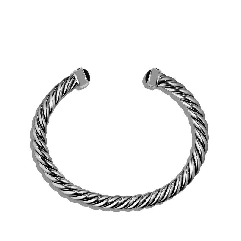 David Yurman Cuff Bracelet with Black Onyx