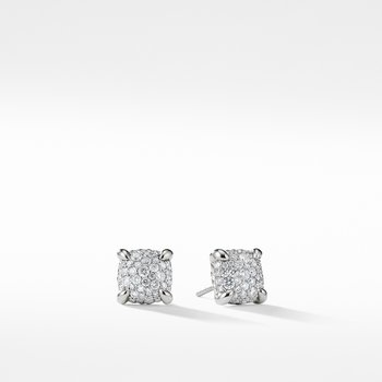 Chatelaine Earrings with Diamonds