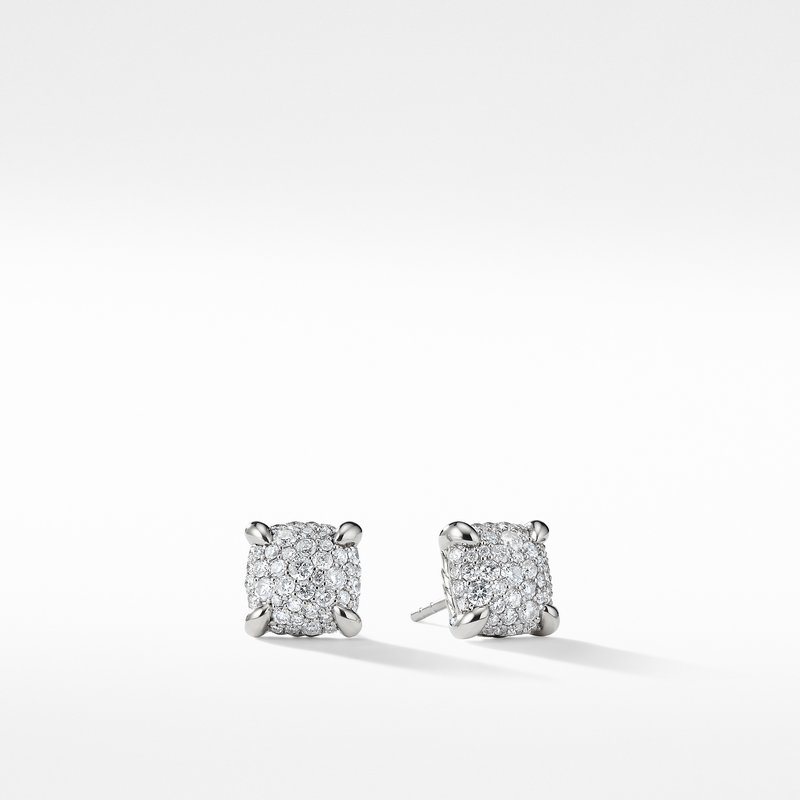 David Yurman Chatelaine Earrings with Diamonds