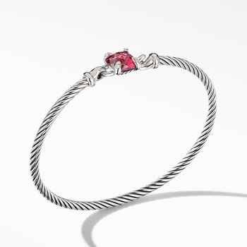 Chatelaine® Bracelet with Rhodolite Garnet and Diamonds