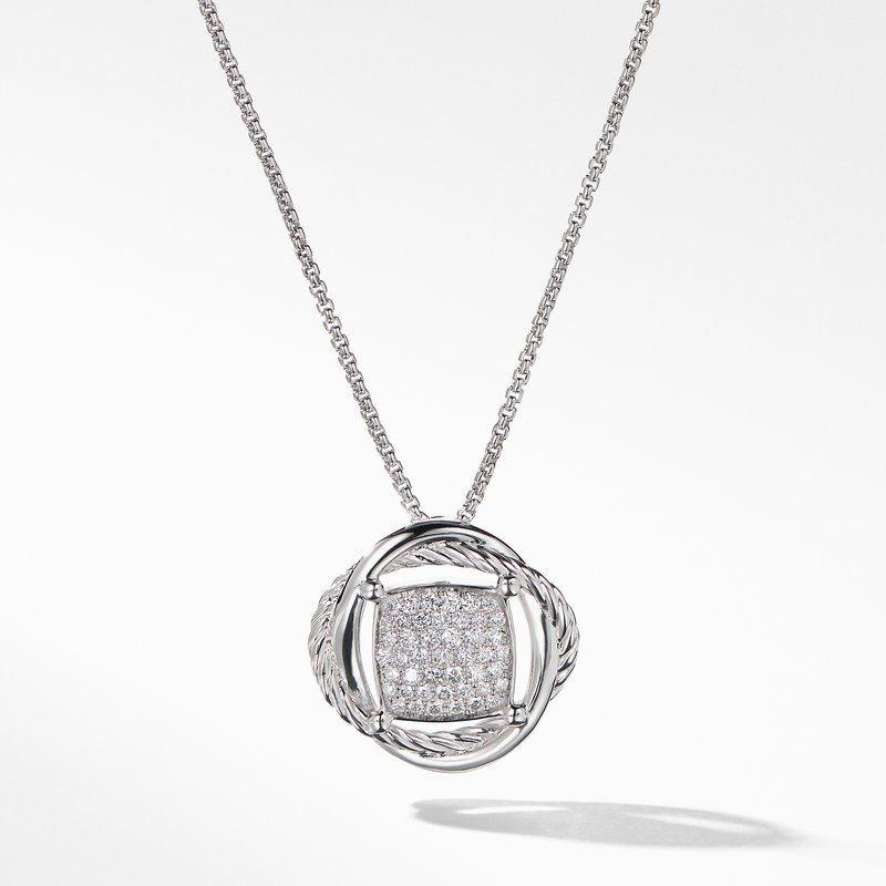 David Yurman The Crossover Collection® Pendant Necklace with Diamonds