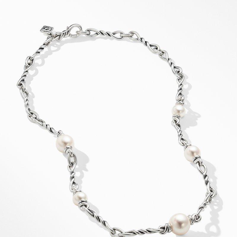David Yurman Continuance® Pearl Small Chain Necklace