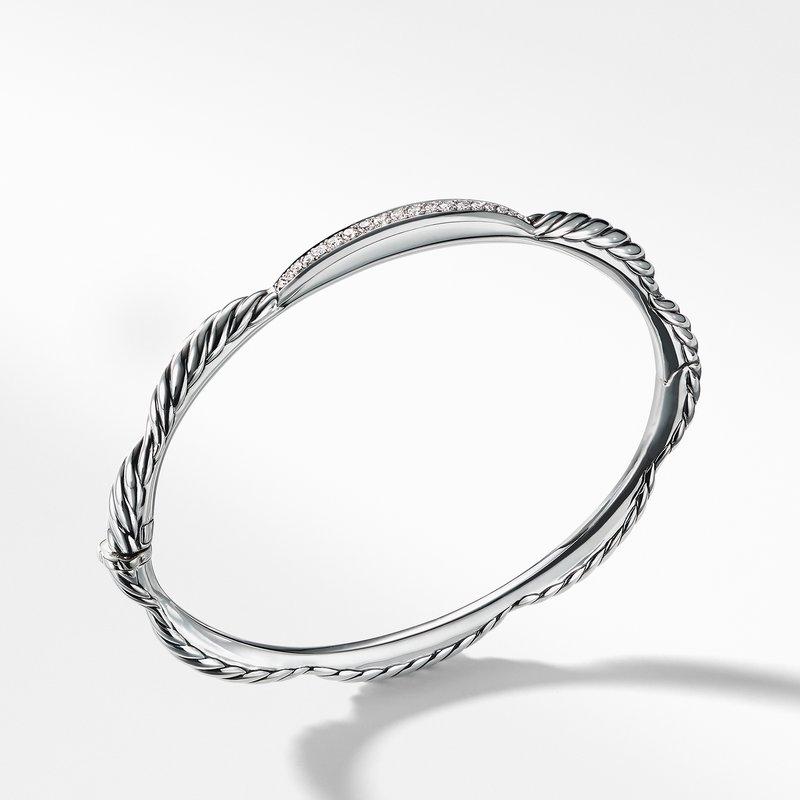 David Yurman Tides Single Station Bracelet with Diamonds