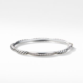 Tides Single Station Bracelet with Diamonds