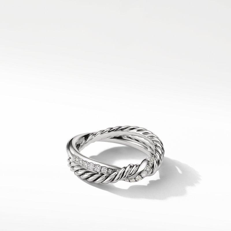 David Yurman Continuance® Twist Ring with Diamonds