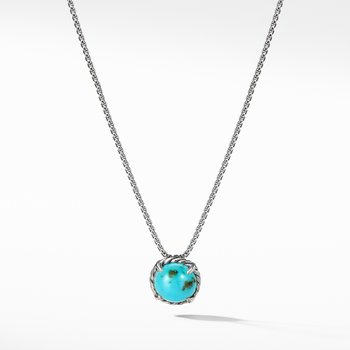 Chatelaine Pendant Necklace with Turquoise
