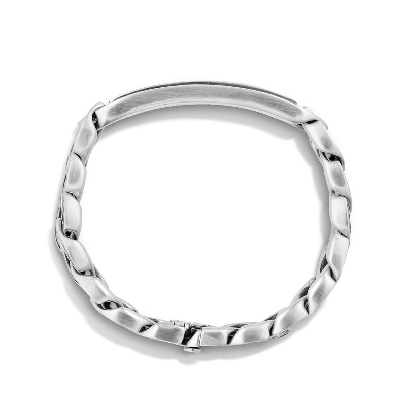 David Yurman Maritime® Curb Link ID Bracelet with Black Onyx