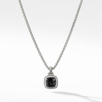 Albion® Pendant with Black Onyx and Diamonds