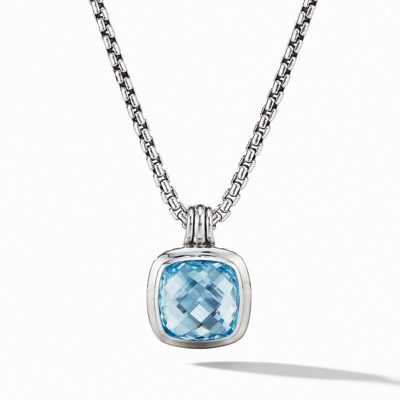 David Yurman Albion® Pendant with Blue Topaz