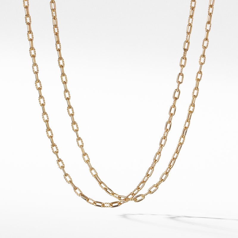 David Yurman DY Madison Thin Necklace in 18K Gold, 3mm