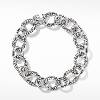 Oval Large Link Bracelet