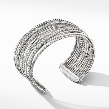 The Crossover Collection® Cuff Bracelet with Diamonds