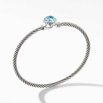 Chatelaine® Bracelet with Blue Topaz