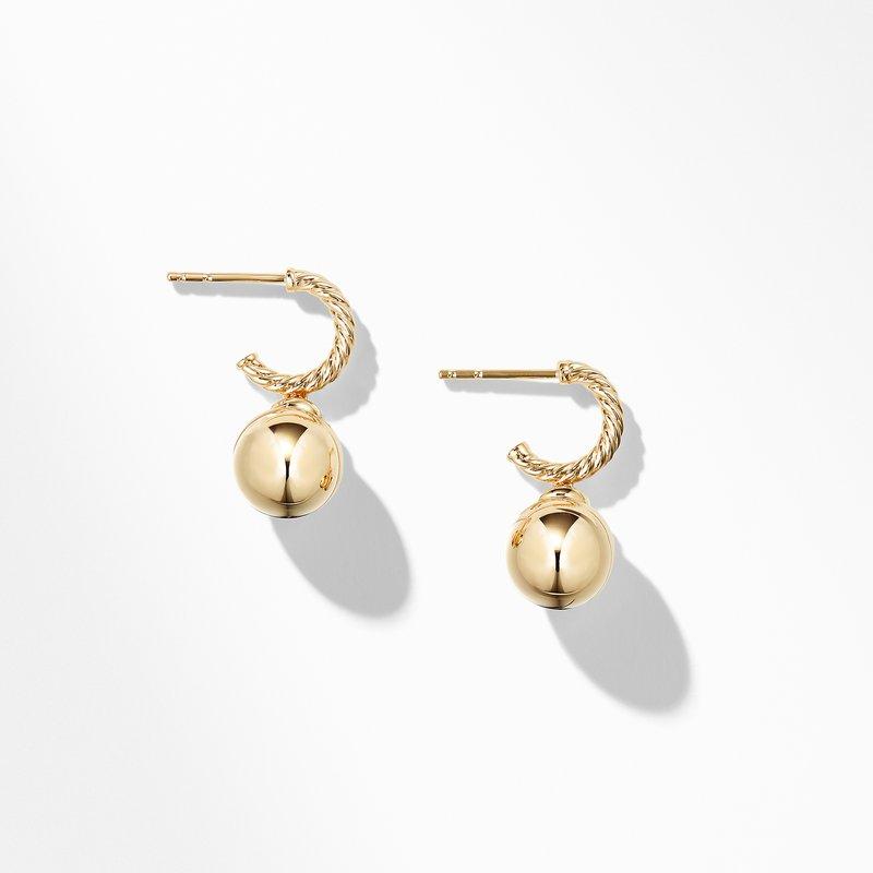 David Yurman Solari Hoop Earrings in 18K Gold
