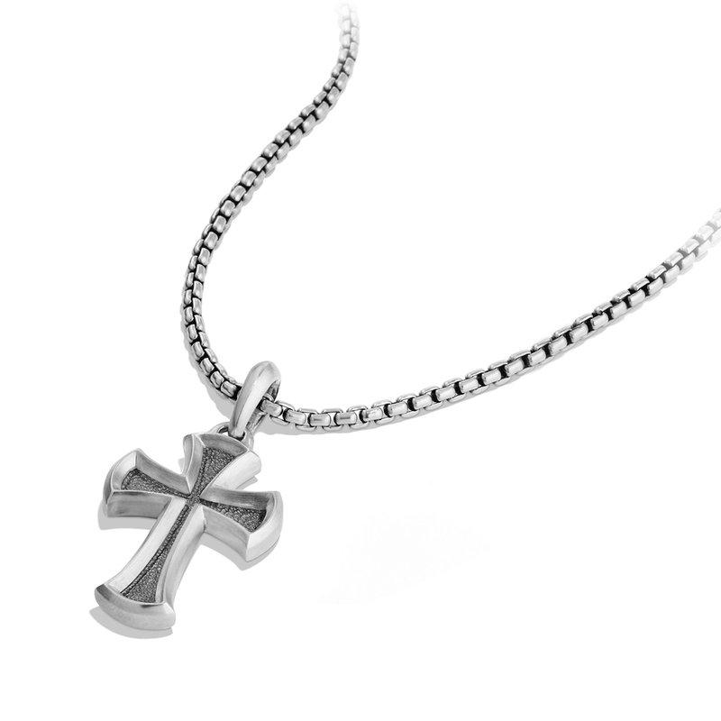 David Yurman Petrvs Cross Pendant