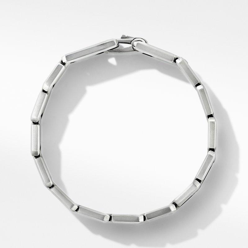 David Yurman Link Bracelet with Pavé Black Diamonds