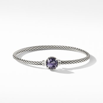 Chatelaine® Bracelet with Black Orchid