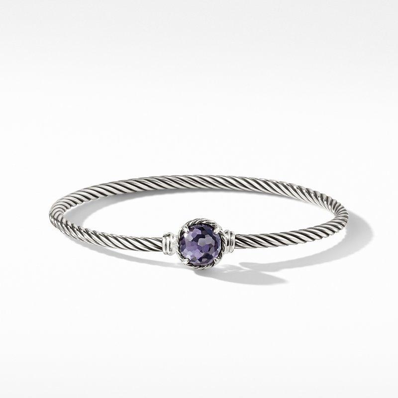 David Yurman Chatelaine® Bracelet with Black Orchid
