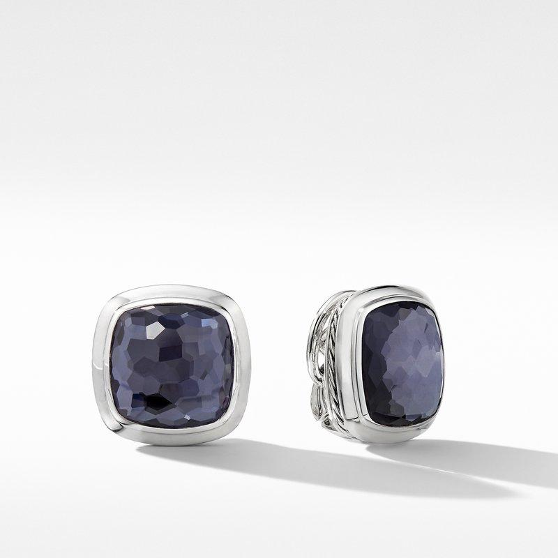 David Yurman Albion® Stud Earrings with Black Orchid
