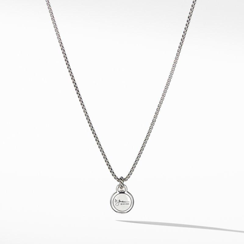 David Yurman Pearl Necklace with Diamonds