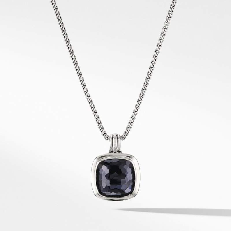 David Yurman Albion® Pendant with Black Orchid