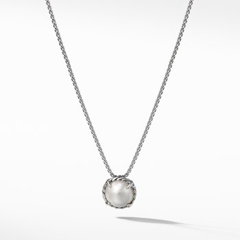 Chatelaine® Pendant Necklace with Pearl