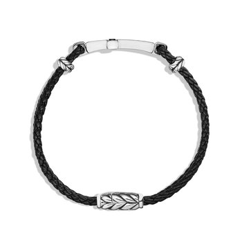 Cross Bracelet with Black Onyx