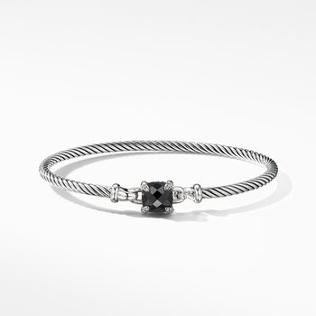 Chatelaine® Bracelet with Black Onyx and Diamonds