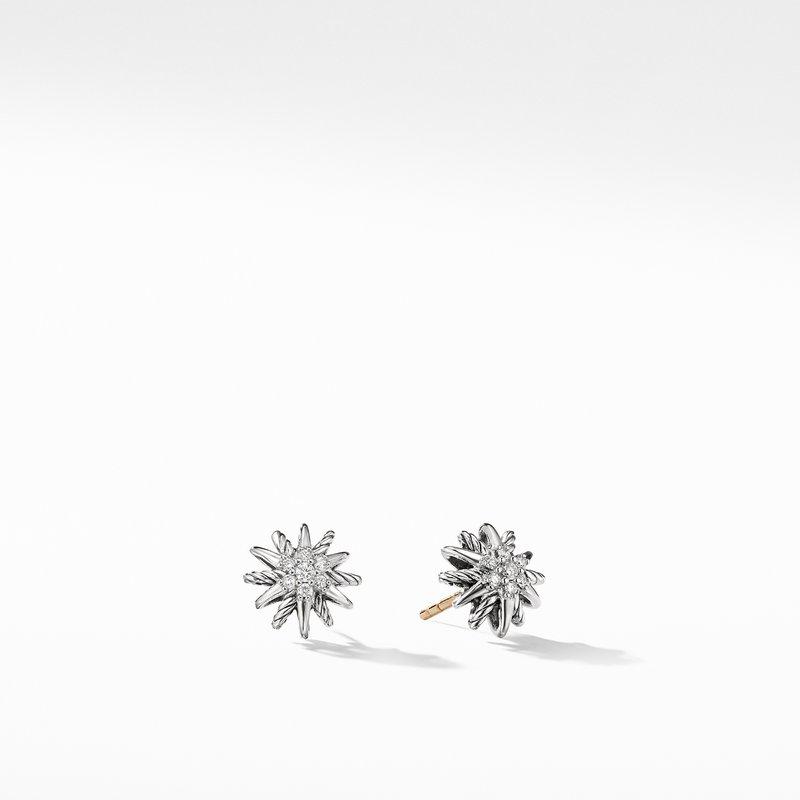 David Yurman Starburst Earrings with Diamonds