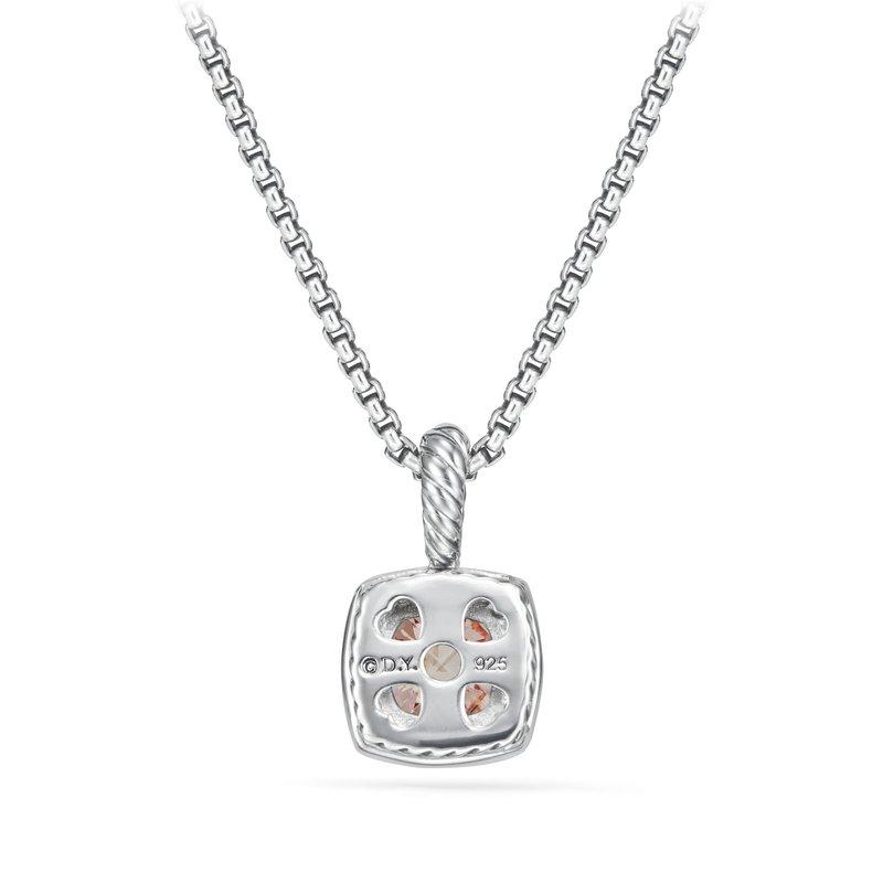 David Yurman Petite Albion® Pendant Necklace with Morganite and Diamonds
