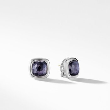 Albion® Stud Earrings in Black Orchid