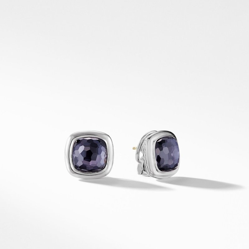 David Yurman Albion® Stud Earrings in Black Orchid