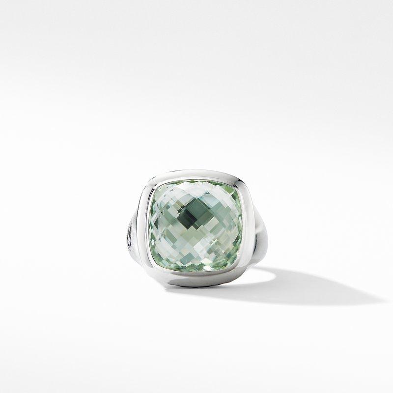 David Yurman Albion® Ring with Prasiolite