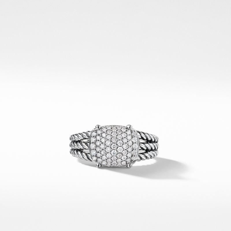 David Yurman Petite Wheaton® Ring with Diamonds