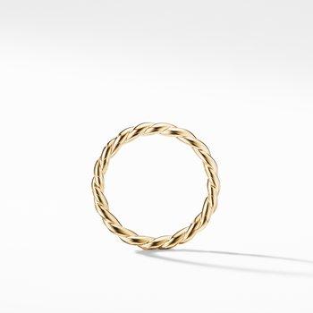 Paveflex Ring in 18K Gold, 2.7mm