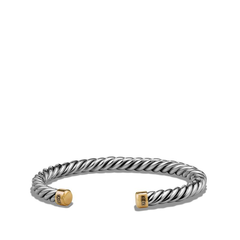 David Yurman Cuff Bracelet with 18K Gold