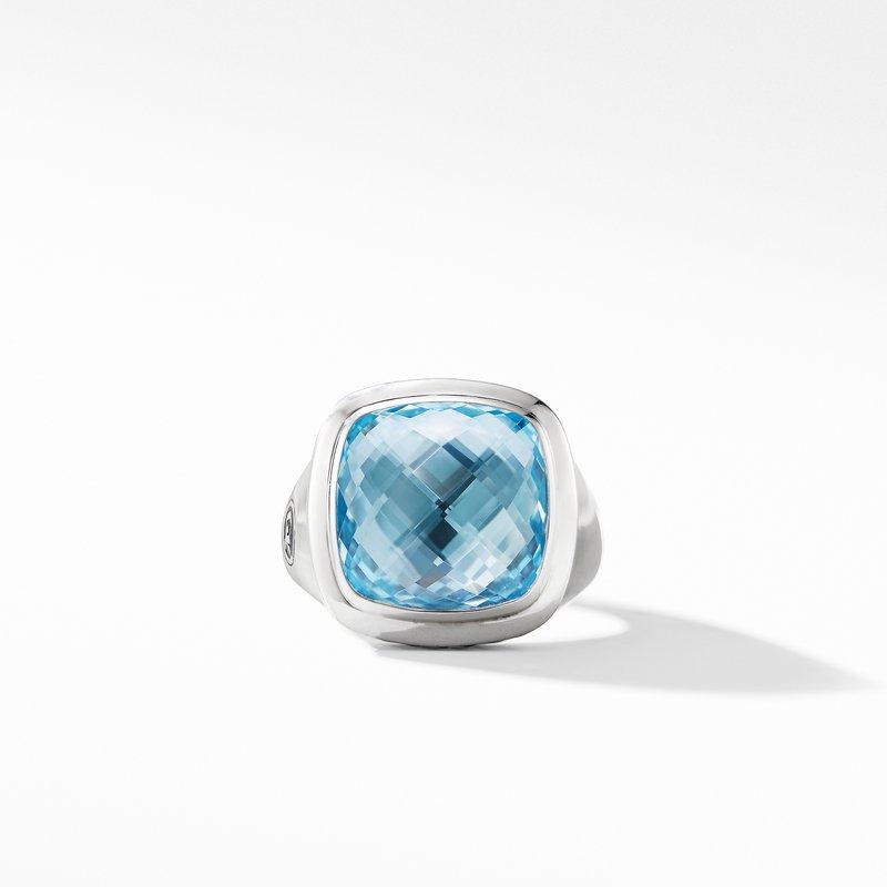 David Yurman Albion® Ring with Blue Topaz